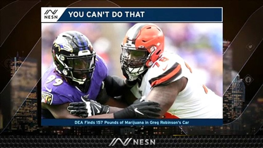 Greg Robinson Gets Busted With 157 Pounds Of Marijuana