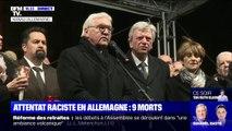 Attentat raciste en Allemagne: un hommage se déroule à Hanau