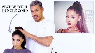 Chris Appleton's Ponytail Masterclass: Ariana Grande, Kim Kardashian, and Jennifer Lopez
