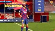 Barça : les jongles fantasques de Martin Braithwaite