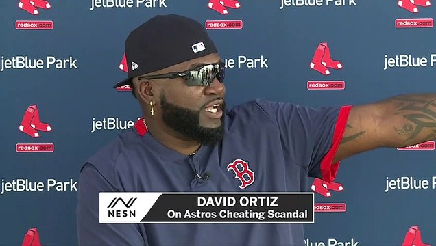 David Ortiz Asks Why No Astros Stopped Cheating In 2017