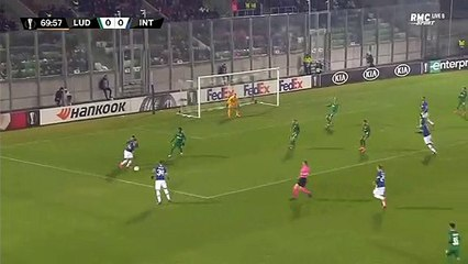 Eriksen GOAL - Ludogorets 0 - 1 Inter Milano