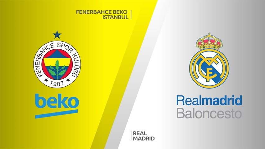 Fenerbahce Beko Istanbul - Real Madrid Highlights   Turkish Airlines EuroLeague, RS Round 25
