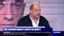 """Pour Eric Dupond-Moretti, les réseaux sociaux sont devenus """"une poubelle à ciel ouvert"""""""