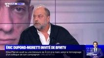 """Pour Eric Dupond-Moretti, """"la volonté effrénée de transparence"""" peut conduire à """"la dictature"""""""