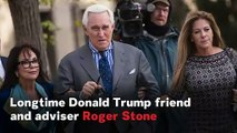 Longtime Trump Ally Roger Stone Sentenced To 40 Months In Prison