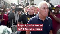 Roger Stone Goes To Jail For Years