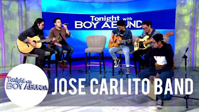 "Jose Carlito band performs their latest single, ""Big White Wall"" | TWBA"