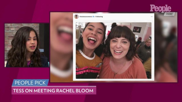 Tess Romero Was 'Freaking Out and Fangirling' Over 'Crazy Ex-Girlfriend' Star Rachel Bloom