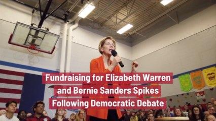 Elizabeth Warren And Bernie Sanders Win Nevada Debate
