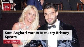 Sam Asghari Has Marriage Goals