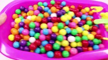 ABC Song Learn Colors MandMs Triple Baby Doll Bath Time and Ice Cream Cups Surprise Toys