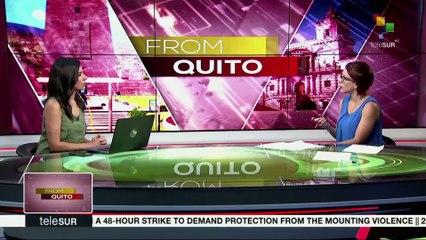 FROM QUITO: LENIN MORENO MEETS DONALD TRUMP