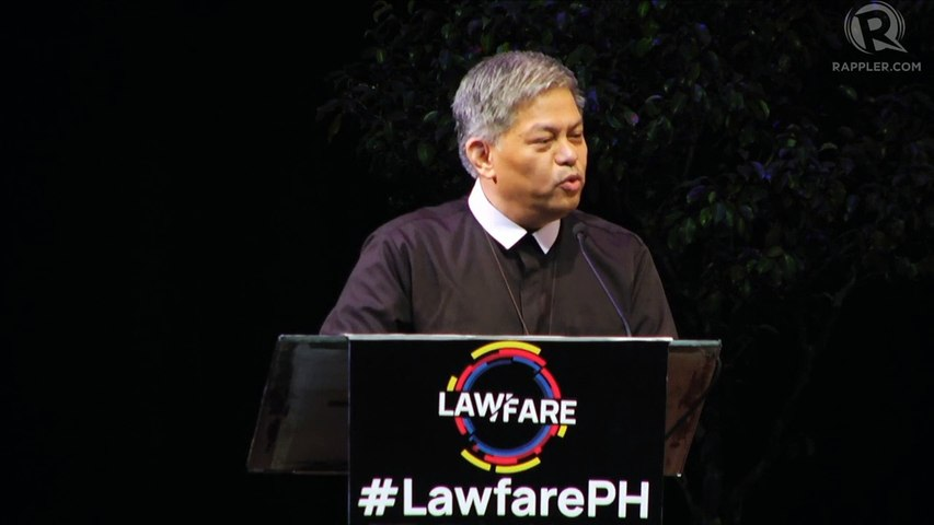 Luistro: Legal instruments are used as weapons against freedom