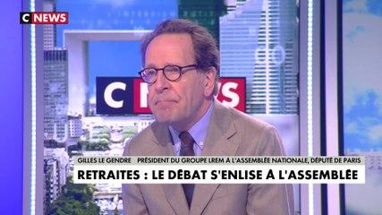 Gilles Le Gendre - CNews vendredi 21 février 2020