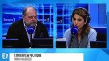 """Affaire Griveaux : Eric Dupond-Moretti estime que """"les réseaux sociaux sont devenus une poubelle à ciel ouvert"""""""
