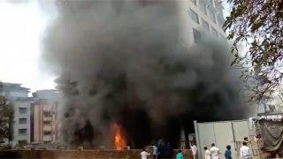 Minor fire at cloth shop in Ulhasnagar, Mumbai