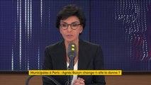 """Municipales à Paris : Agnès Buzyn """"est chaperonnée par Emmanuel Macron"""" affirme Rachida Dati"""