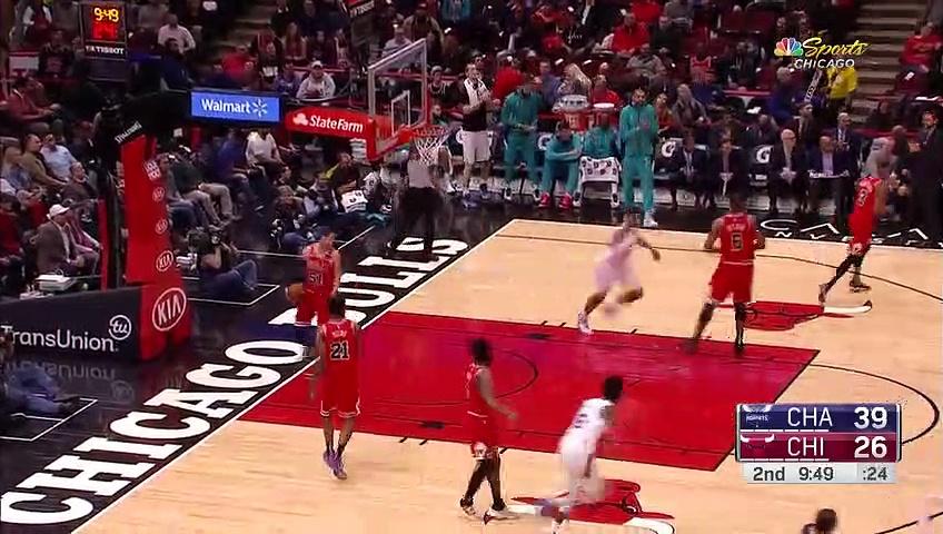 Charlotte Hornets 103 - 93 Chicago Bulls