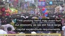 Corona virus impacts the Indian economy