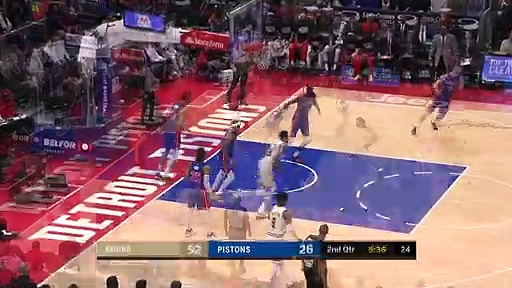 Milwaukee Bucks 126 - 108 Detroit Pistons
