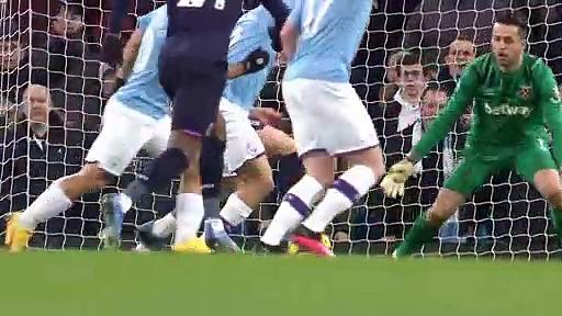 Manchester City - West Ham (2-0) - Maç Özeti - Premier League 2019/20