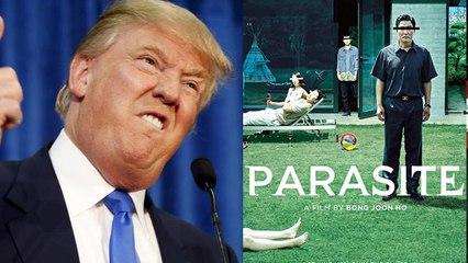 Donald Trump BASHES Bong Joon Ho's Parasite, Brad Pitt And The 2020 Oscars