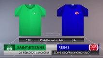 Match Preview: Saint-Etienne vs Reims on 23/02/2020