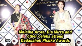 Malaika Arora, Dia Mirza and other celebs attend Dadasaheb Phalke Awards