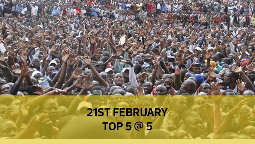 Top 5 @ 5: Kenya's tribal numbers, Kenei's family speaks out, Judge in Cohen's case arrested