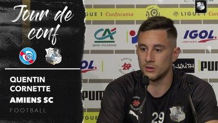 Conférence de presse d'avant Match, RC Strasbourg - Amiens SC  , Quentin Cornette