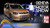 A bord du Volkswagen Caddy (2020)