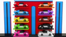Fun Cars Parking Learn Colors With Street Vehicles Toys