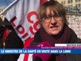 A la Une : Le Ministre de la Santé et des solidarités en visite à Saint-Etienne / Les avocats envoient des recommandés au Ministre de la justice / La vache Idéale de la région, égérie du Salon de l'Agriculture - Le JT - TL7, Télévision loire 7