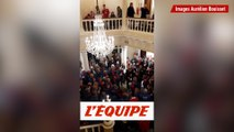 Une chorale galloise chante «Bread of Heaven» - Rugby - Tournoi