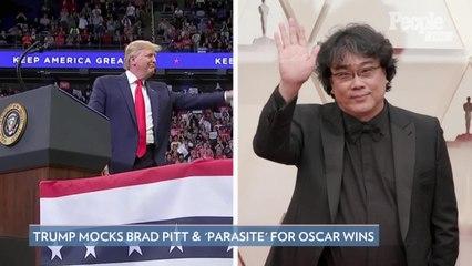 Trump Mocks Brad Pitt and Parasite for Oscar Wins, Korean Film's Distributor Hilariously Fires Back