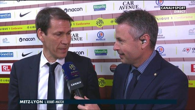 Les impressions de Rudi Garcia avant Metz / OL - Ligue 1 Conforama