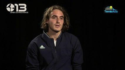 "ATP - Marseille 2020 - Stefanos Tsitsipas : ""Alexander Bublik is unpredictable"""