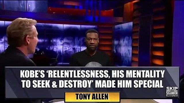 Tony Allen reflects on his many battles with Kobe Bryant