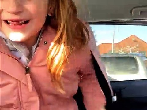 Daughter Gets Puppy for Valentines Day