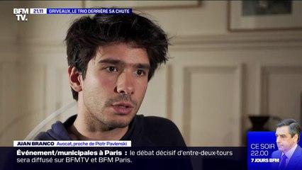 Juan Branco affirme avoir découvert les vidéos intimes de Benjamin Griveaux en février