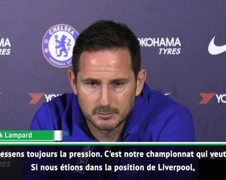 """27e j. - Lampard : """"Je ressens toujours la pression"""""""