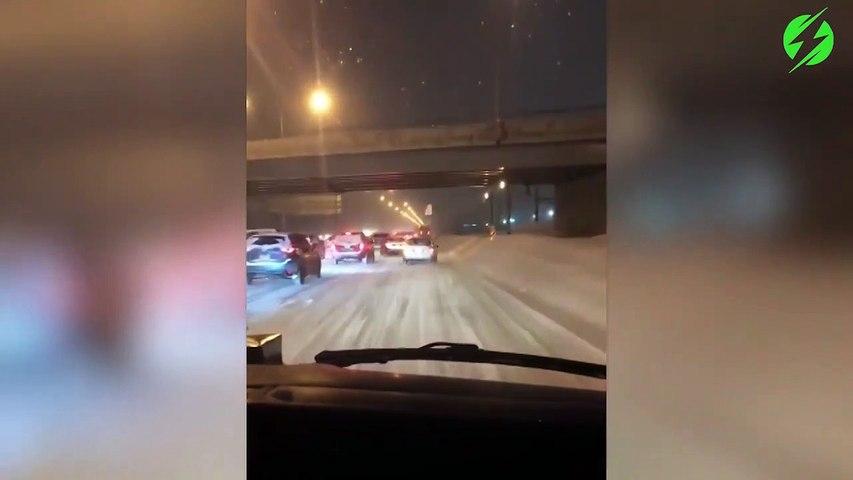 Ce conducteur refuse de laisser passer une ambulance en intervention sur l'autoroute