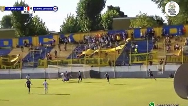 Primera C Sportivo Dock Sud 1-0 Cenral Córdoba - Primera C - Clausura Fecha 6