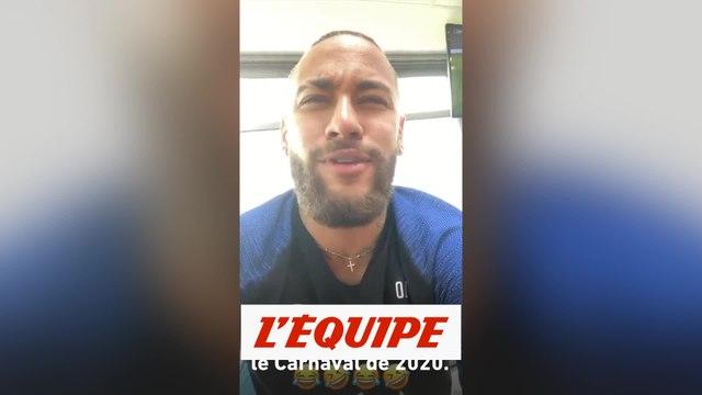 Neymar forfait pour le carnaval de Rio - Foot - WTF