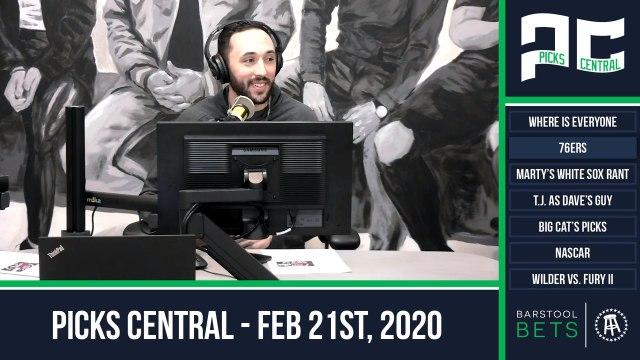 Picks Central - February 21, 2020