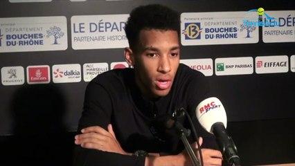 """ATP - Marseille 2020 - Félix Auger-Aliassime : """"Je préfère gagner en deux sets !"""""""