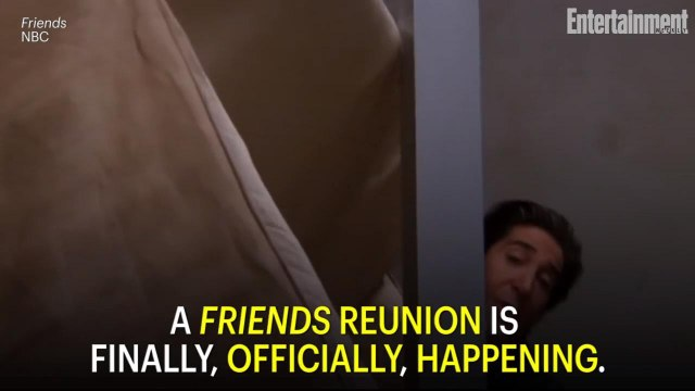 The Friends Reunion is Officially Happening