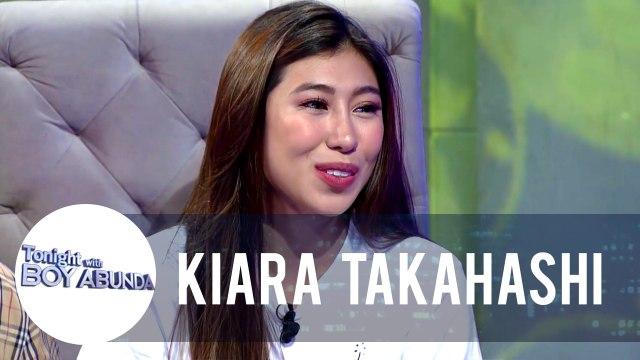 Kiara admits that she initiated a conversation with Kaye Abad | TWBA