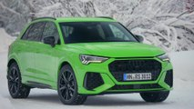 The new Audi RS Q3 Exterior Design in Kyalami Green